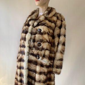 Vintage Custom Made Long Fur Coat